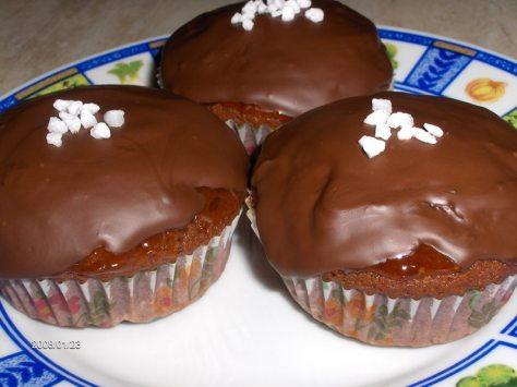 Heti Recept - Sacher muffin